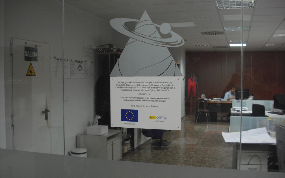 Serfruit continúa trabajando en el proyecto Agronauta.